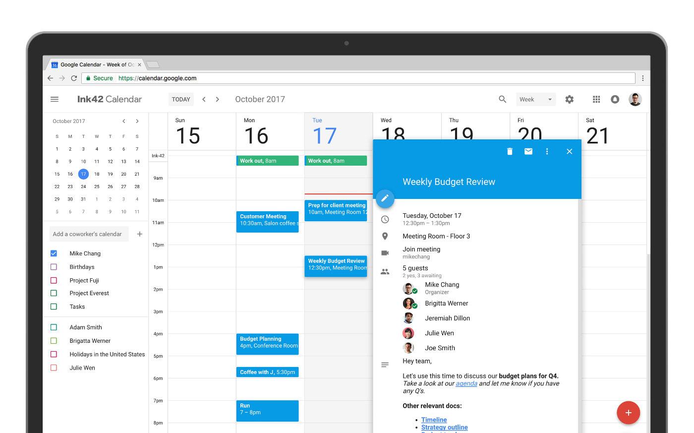 Como ser productivo empleando Google Calendar