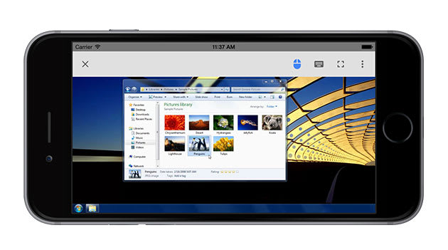 Use your iPhone to access Google's Chrome Remote Desktop