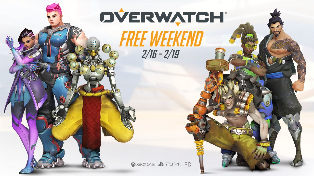 Play 'Overwatch' for free (again) this weekend