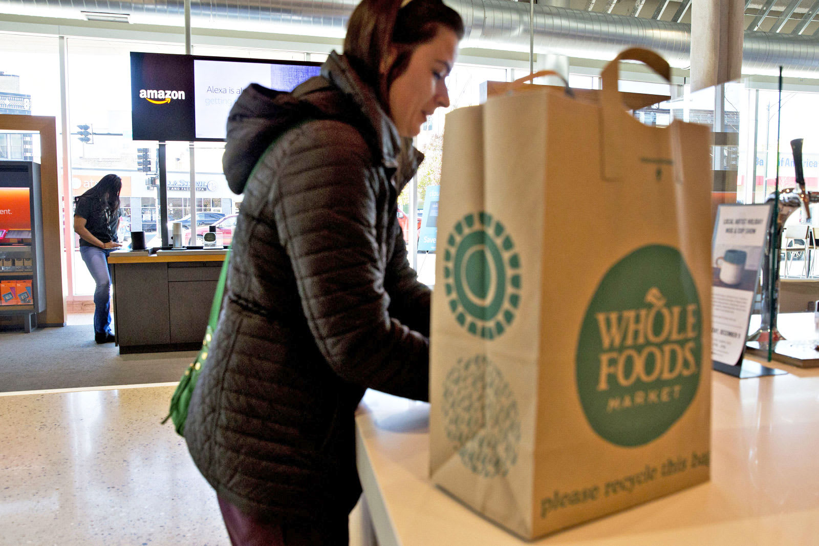 Amazon brings Whole Foods delivery to Chicago and four more