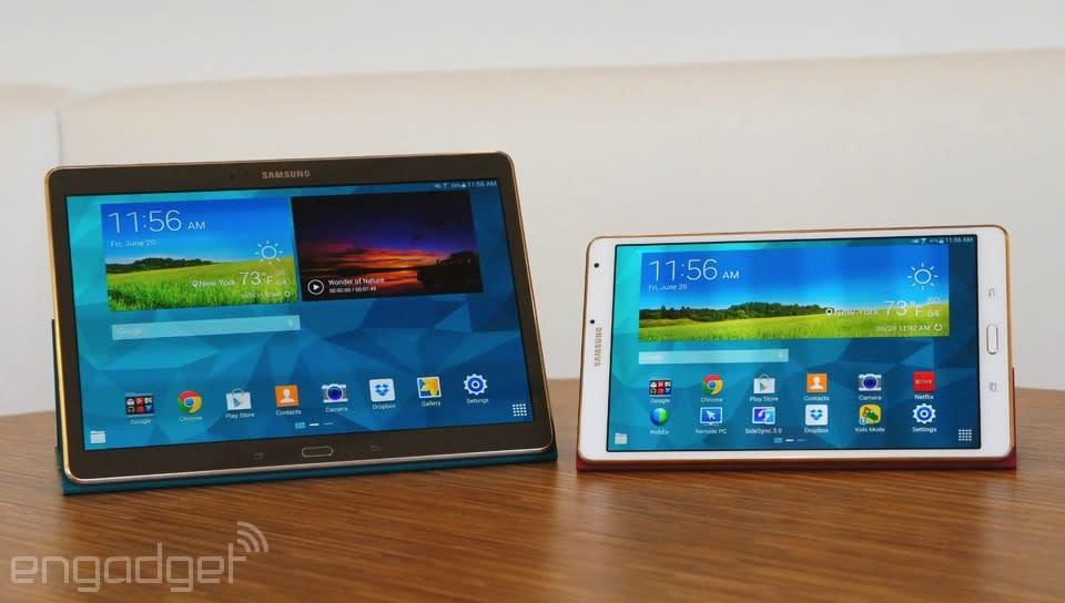 Samsung Galaxy Tab S Review Slim Design Long Battery Life