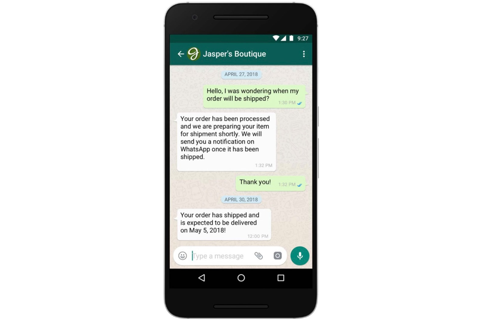 WhatsApp will charge businesses that respond to you too slowly