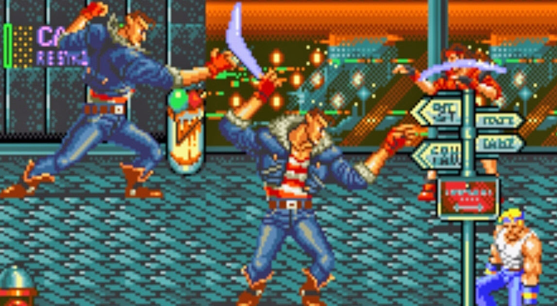 Streets of Rage' comes to mobiles with local multiplayer