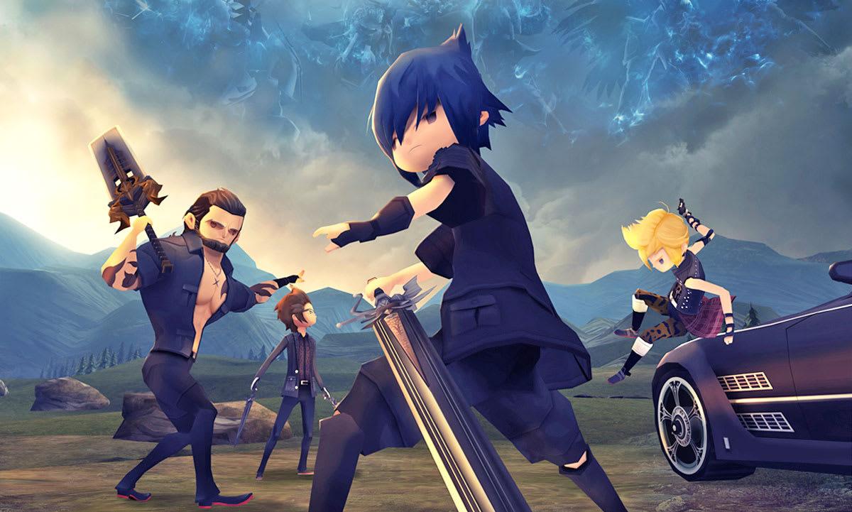 Final Fantasy XV: Pocket Edition' launches February 9th