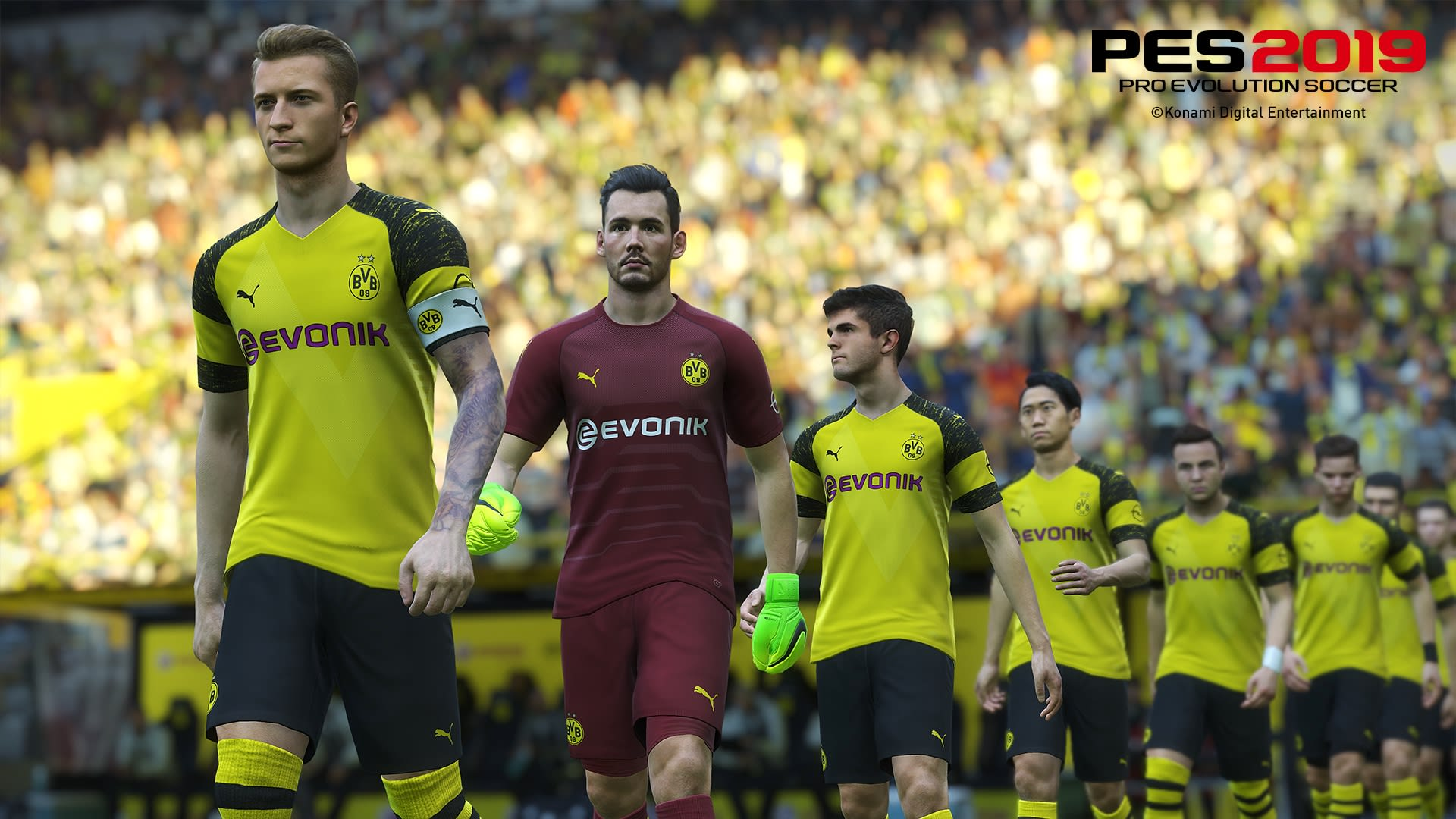 c2e484bb32b PES 2019  loses Borussia Dortmund ahead of launch