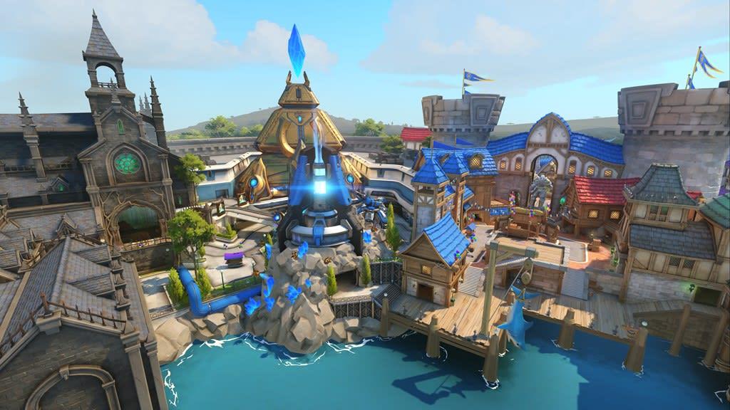 Disneyland Locations World Map.Overwatch Adds Disneyland Style Map Blizzard World