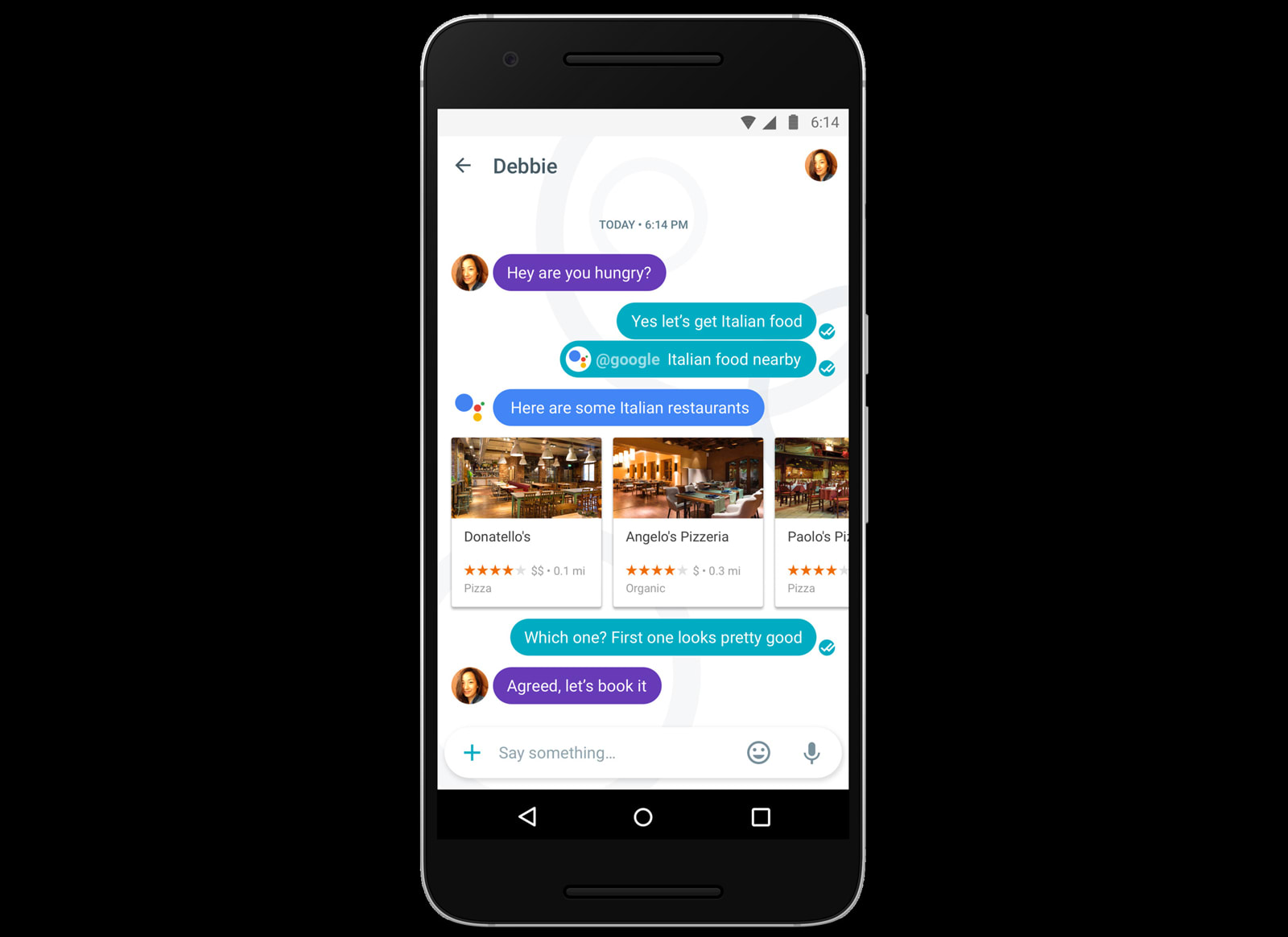 Brits, say Allo to Google's new messaging app