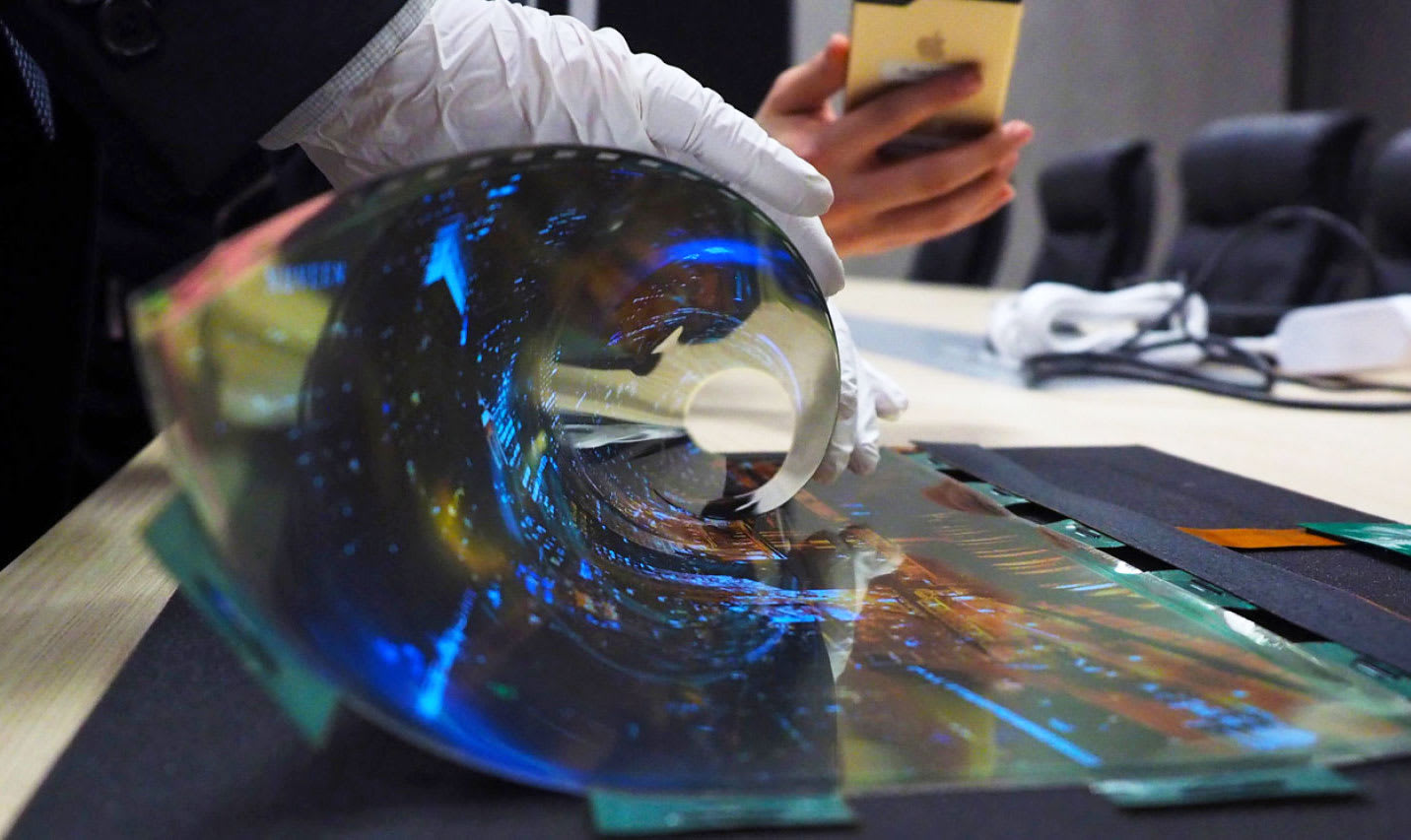 Image result for flexible oled screen