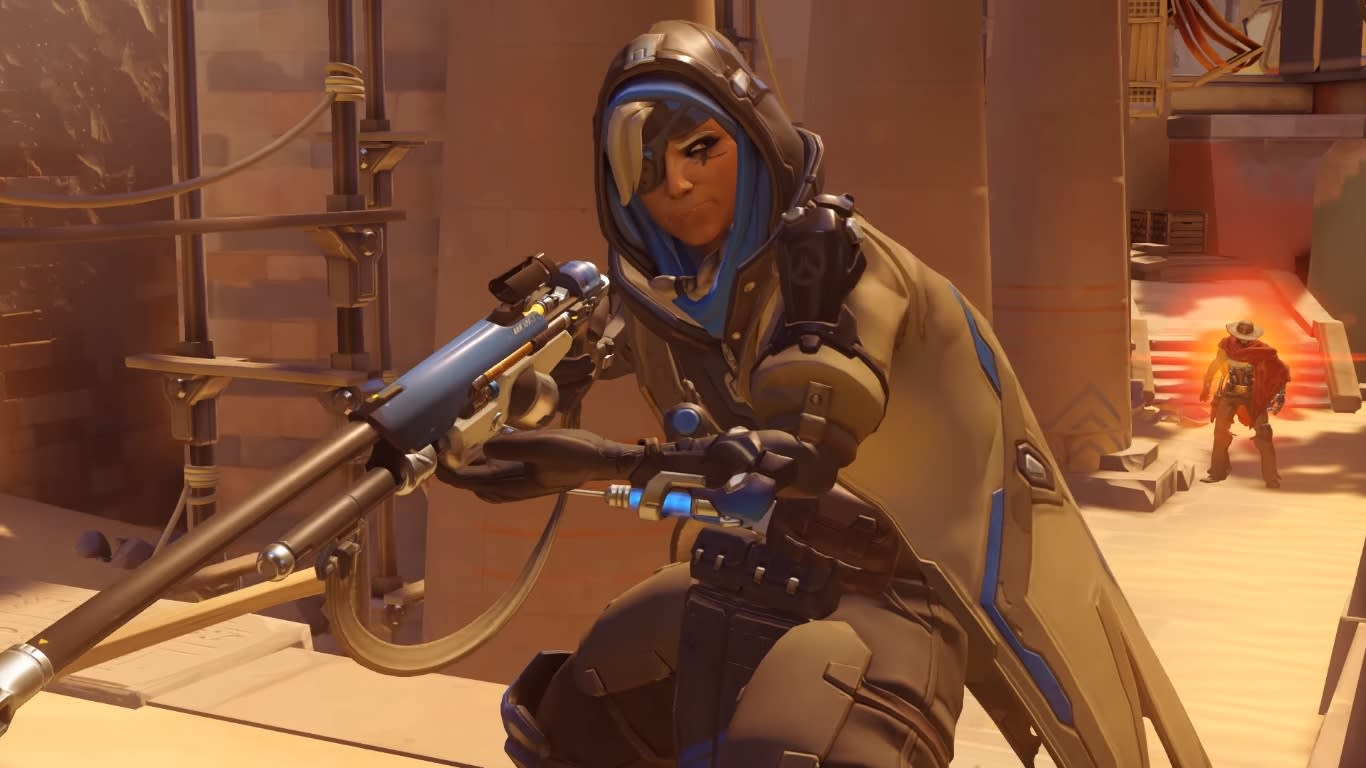 Overwatch' gets its first new hero: A healing sniper