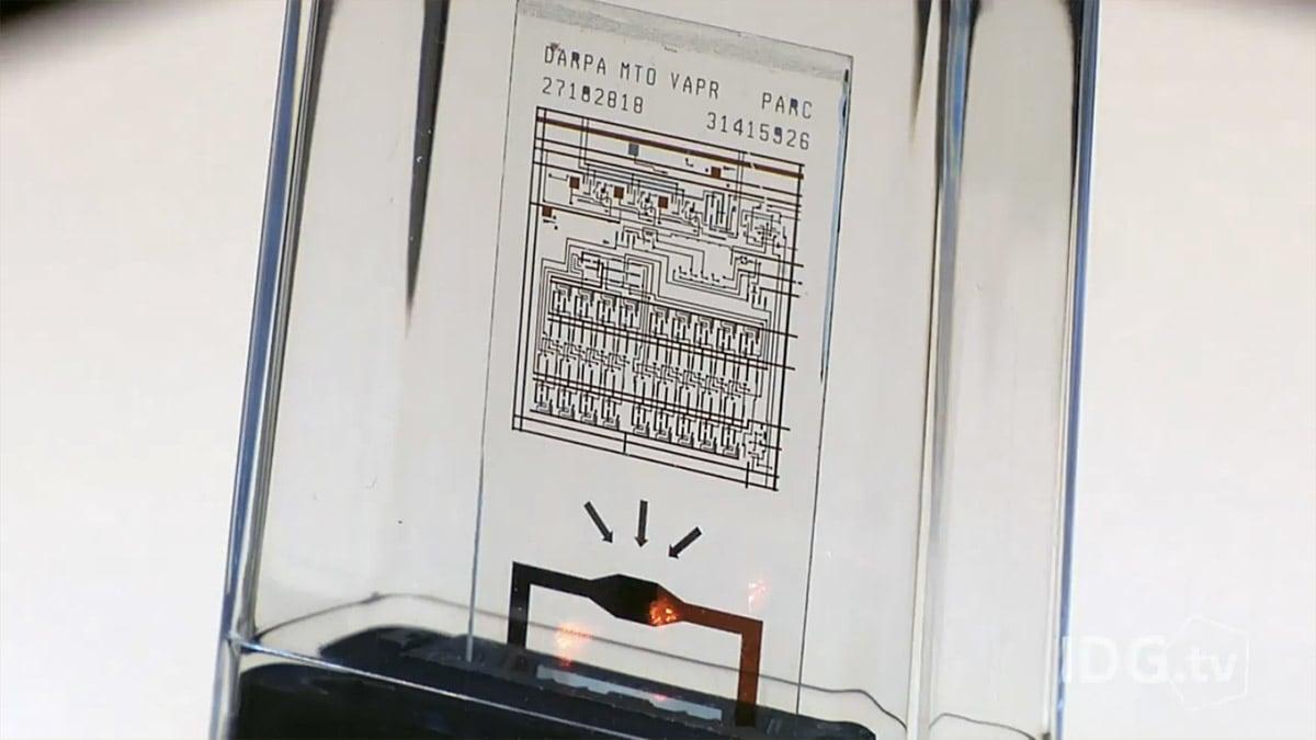 Self-destructing computer chip can protect top secret data