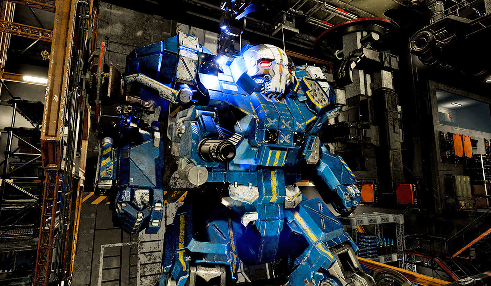 MechWarrior 5' will revolve around co-op and user mods