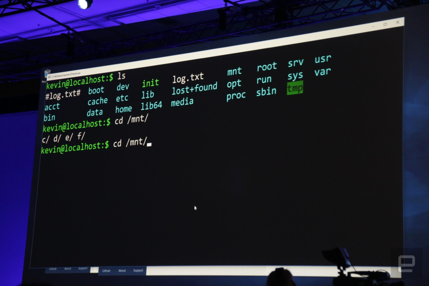 Linux command-line tools are coming to Windows 10