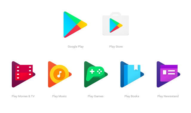 Google Play apps are getting more unified logo designs