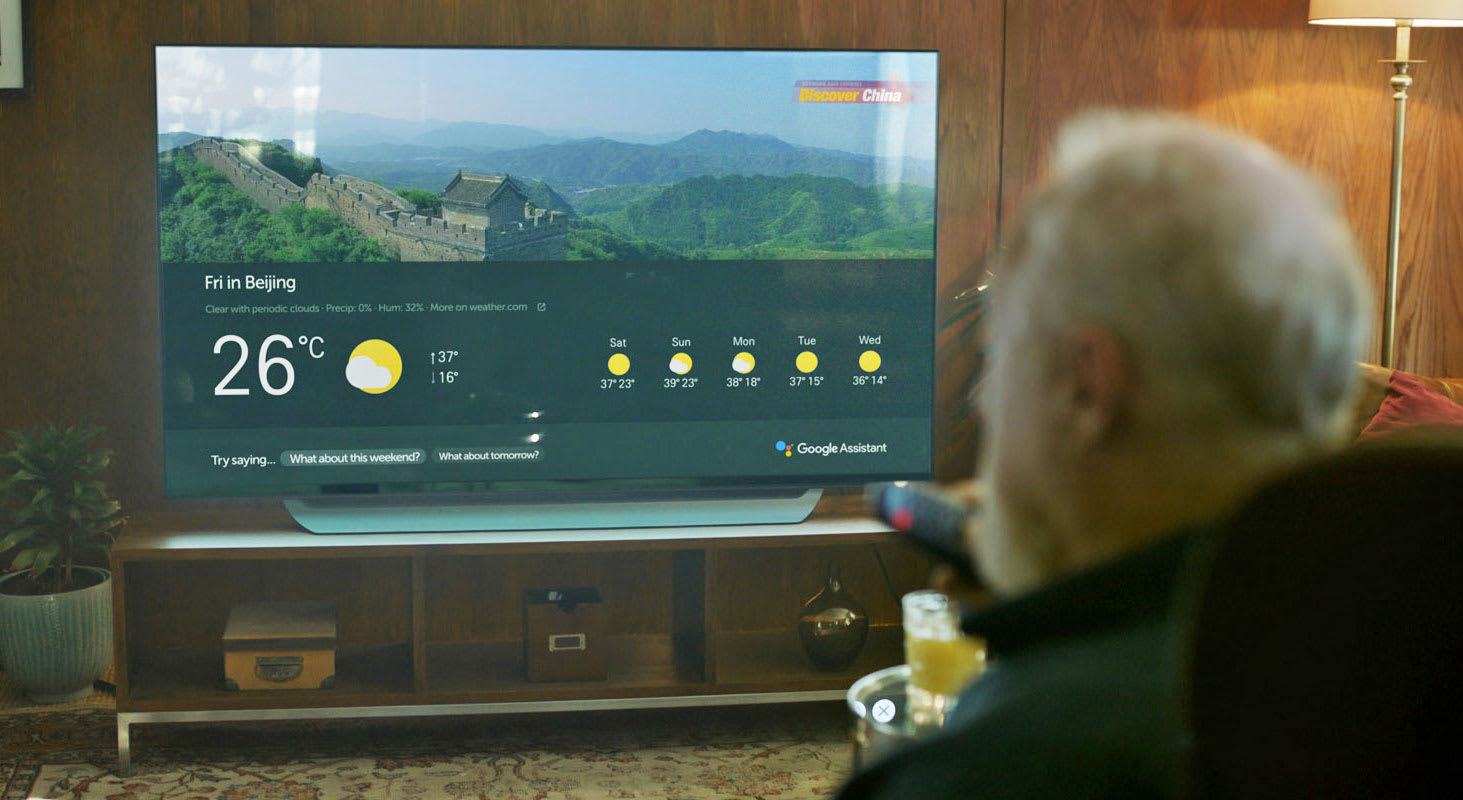 Google Assistant Arrives On Lgs 2018 Premium Tvs