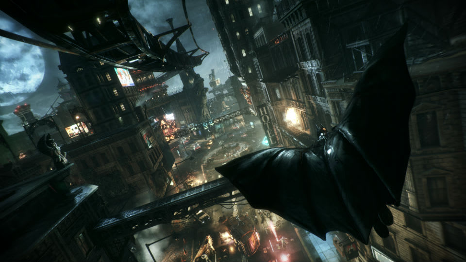Batman: Arkham Knight' is a fun distraction, but it's not Batman