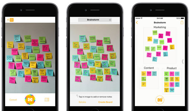 Post-it Notes now have a productivity app to capture your scribbles
