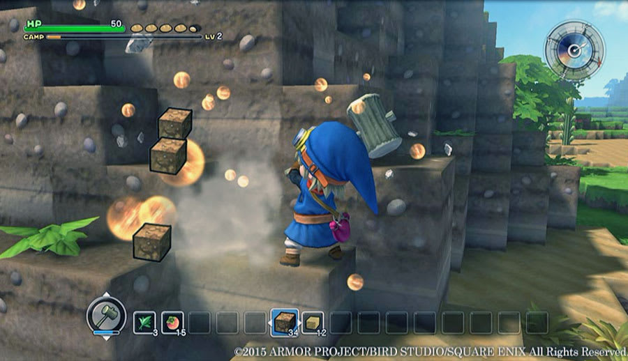 Dragon Quest Builders' is a shallower, more polished 'Minecraft'