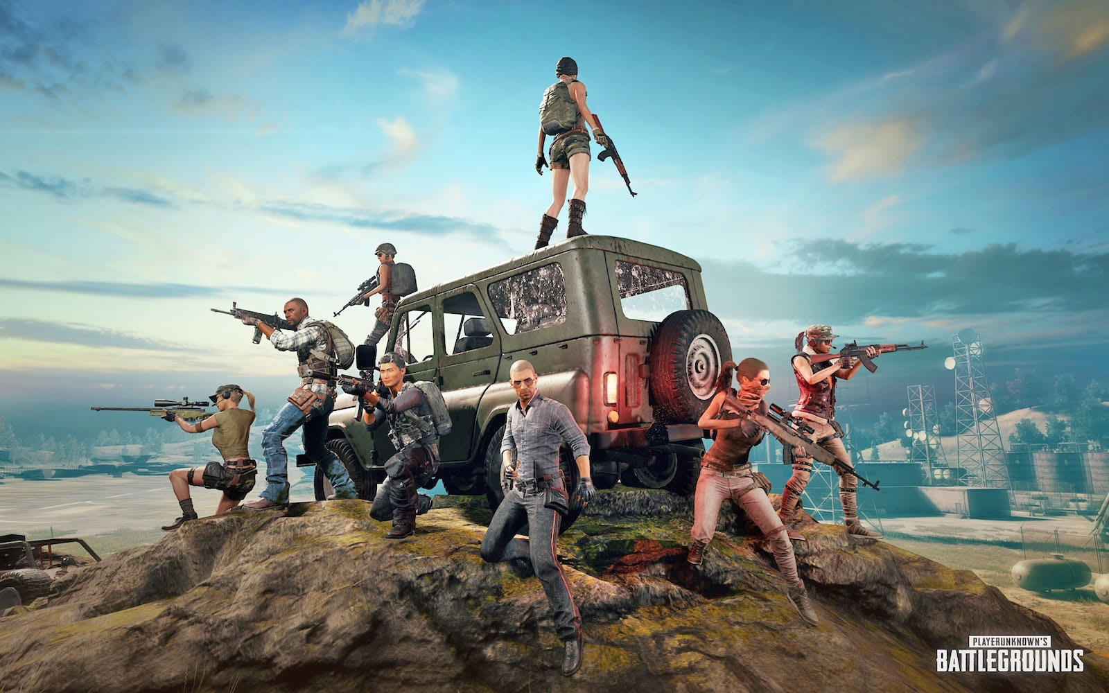 PUBG apk android, pc et ios
