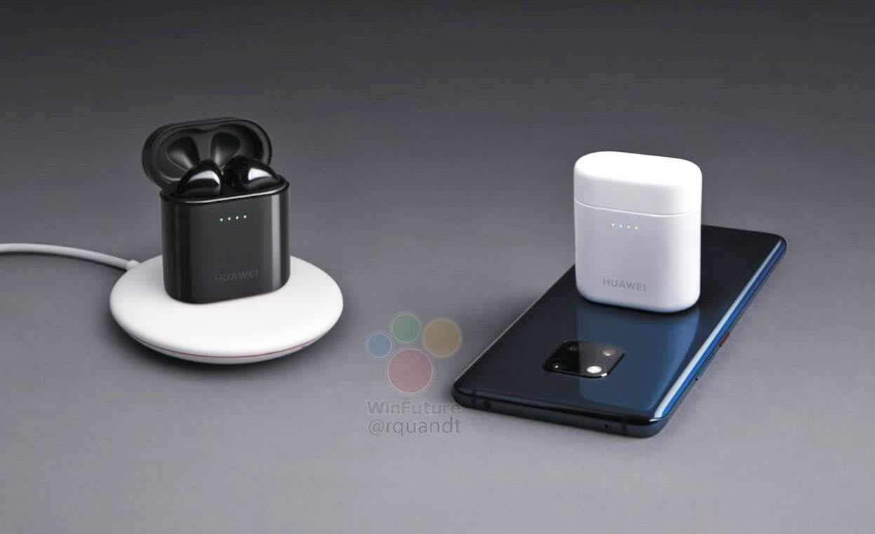 Your phone can wirelessly charge Huawei's new AirPod-like
