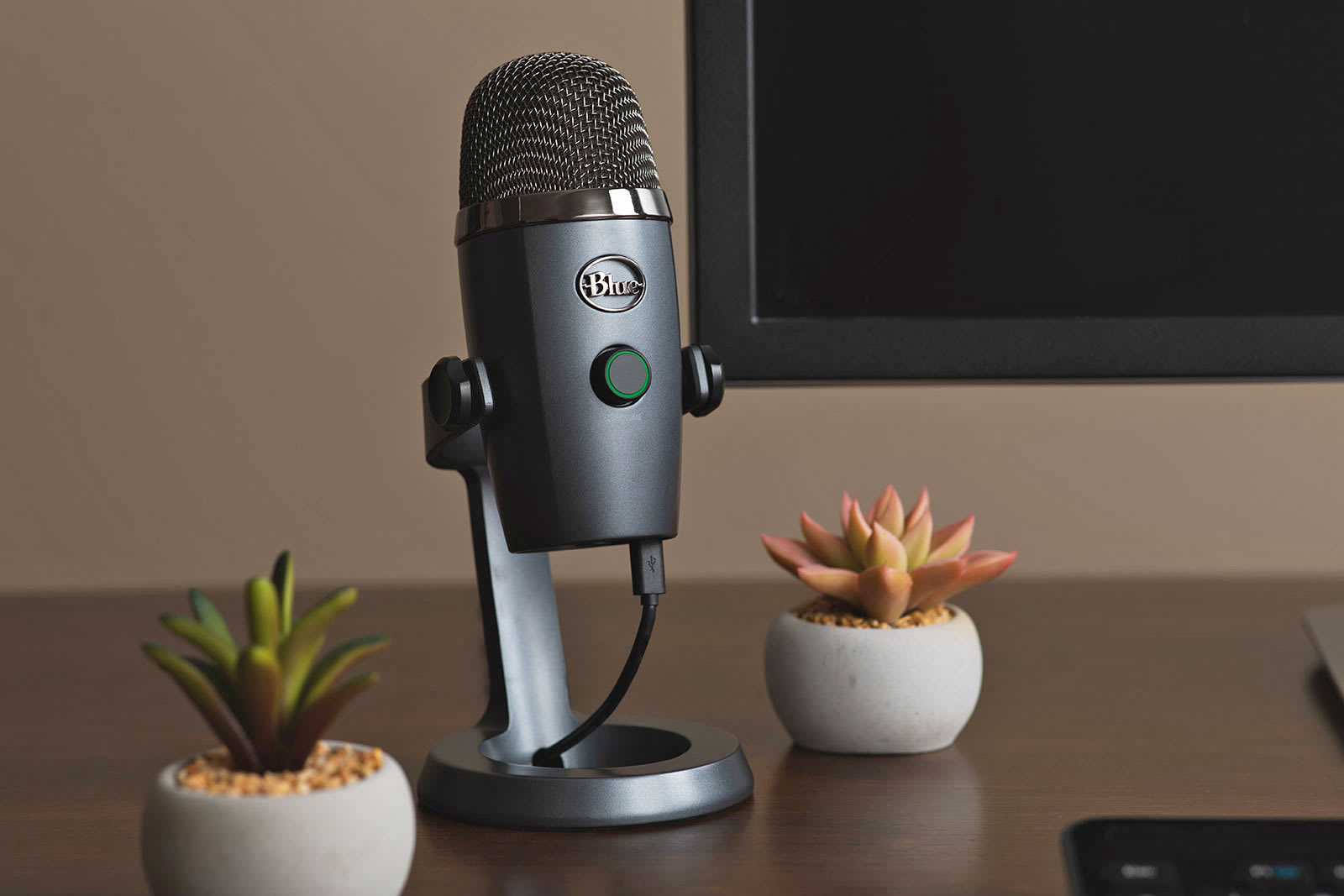 Blue's Yeti Nano is built for simple, high-quality desktop