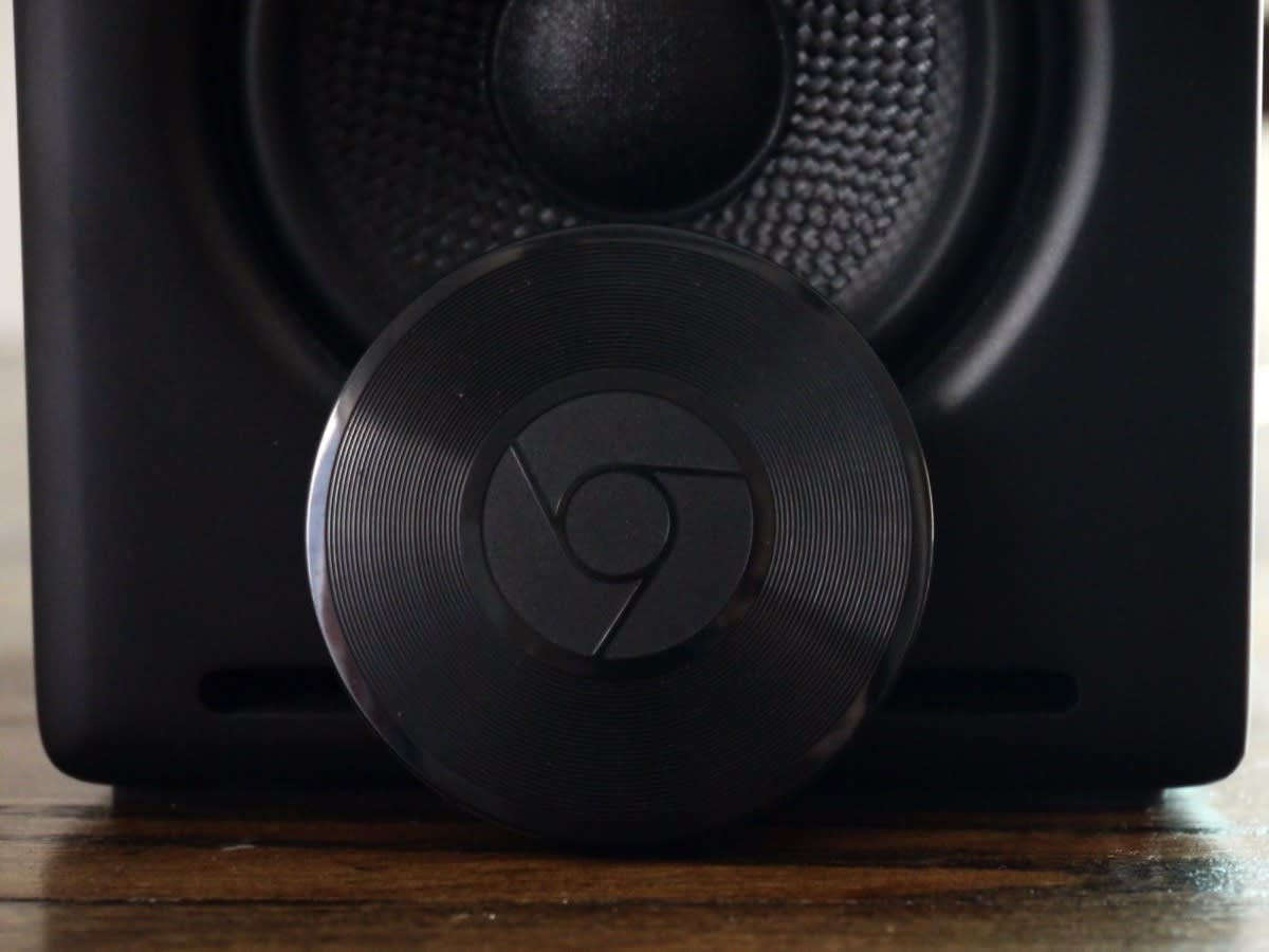 reset chromecast audio