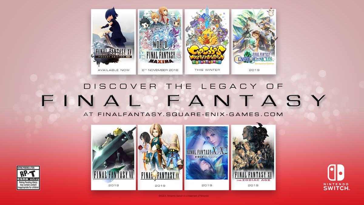 Risultati immagini per final fantasy switch