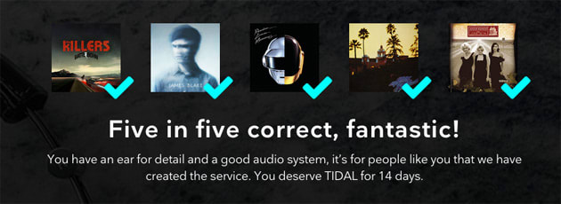 Tidal's HiFi test rewards audiophiles with half as much free
