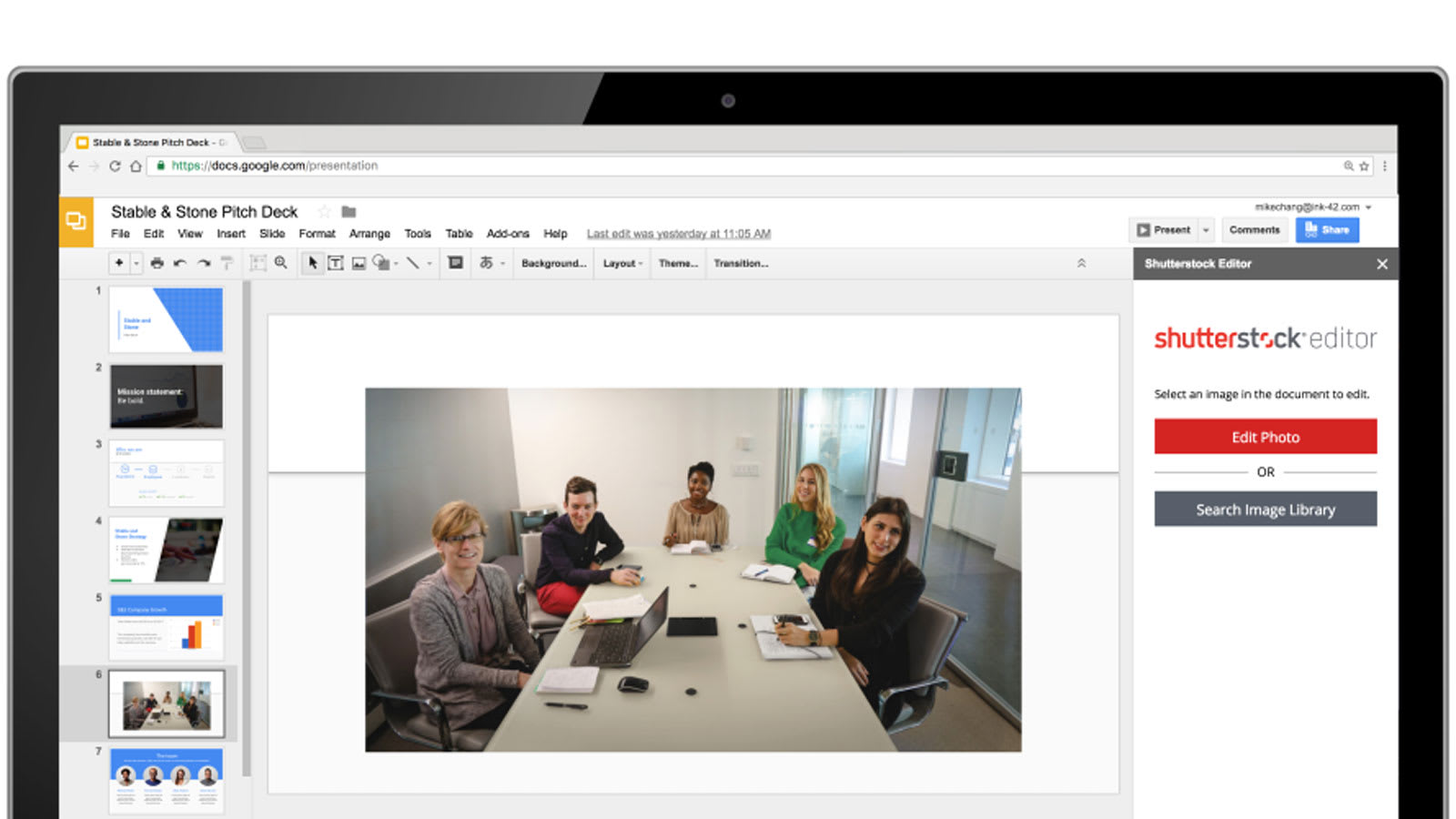 google slides add ons pull in content from around the web