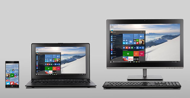 Windows 10 takes up less space and lets you easily kill