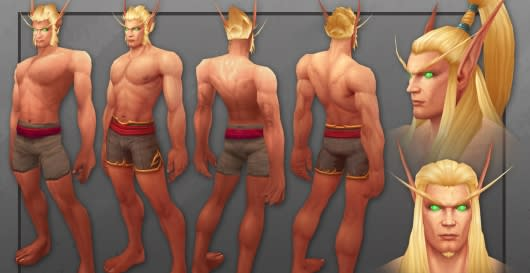 Take A Look At World Of Warcrafts Updated Blood Elf Models