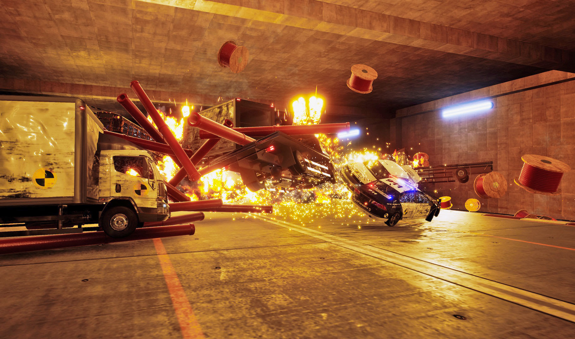 Danger Zone' turns the best part of 'Burnout' into a full game
