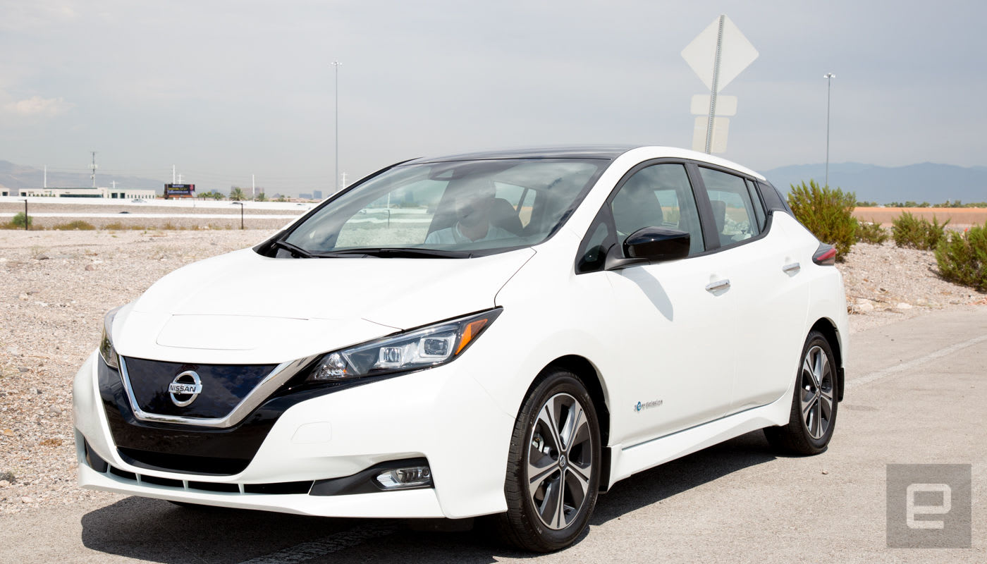 Engadget Nissan S 2018 Leaf
