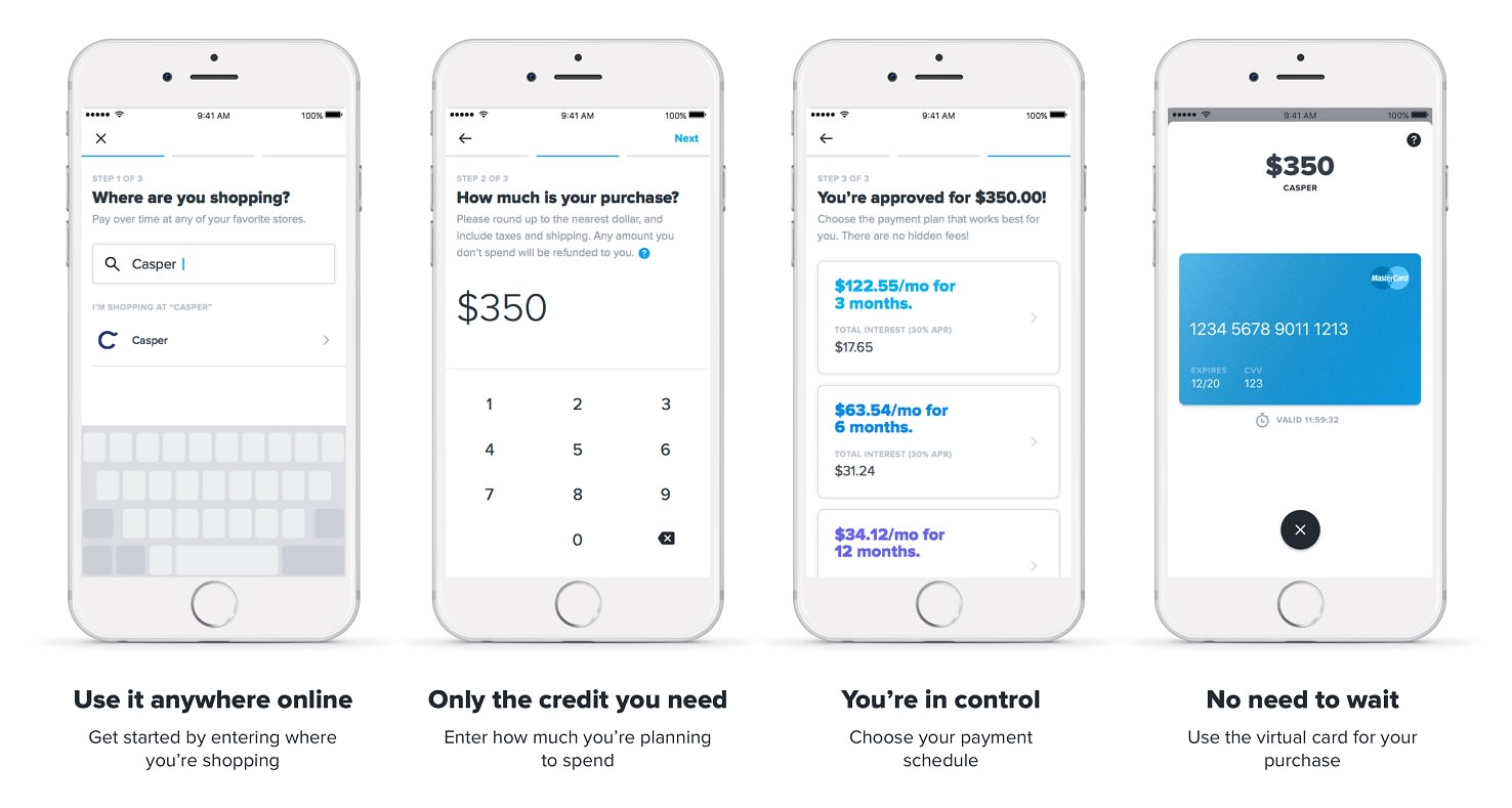 Affirm's app lends you money to buy things online