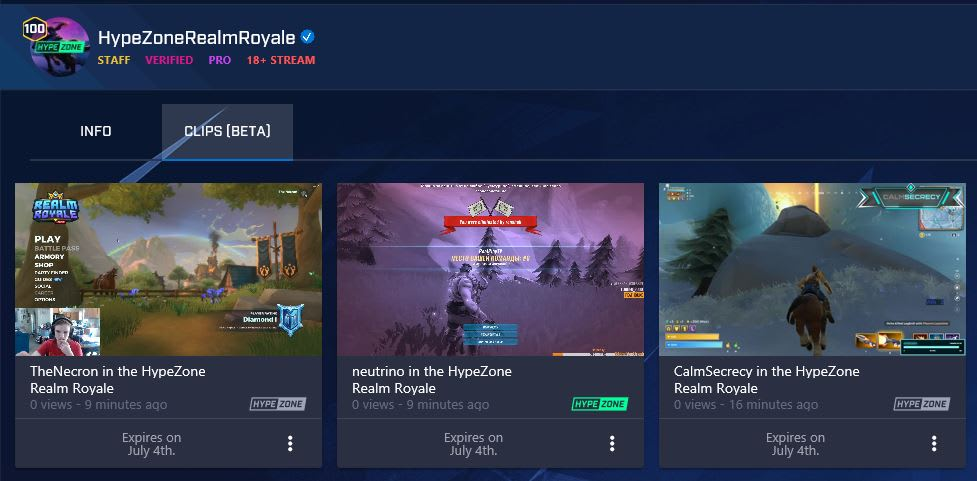 Microsoft's Twitch rival adds instant highlights