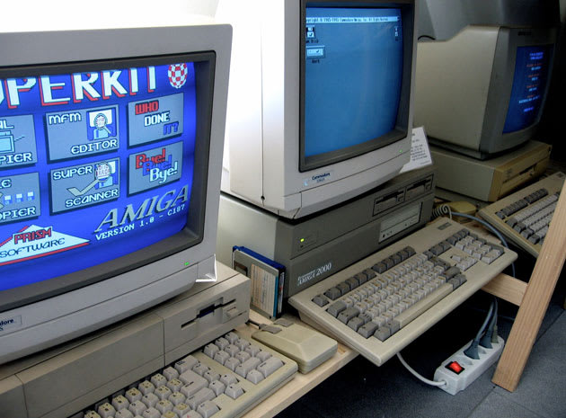 An '80s-era Amiga controls the heating for an entire school