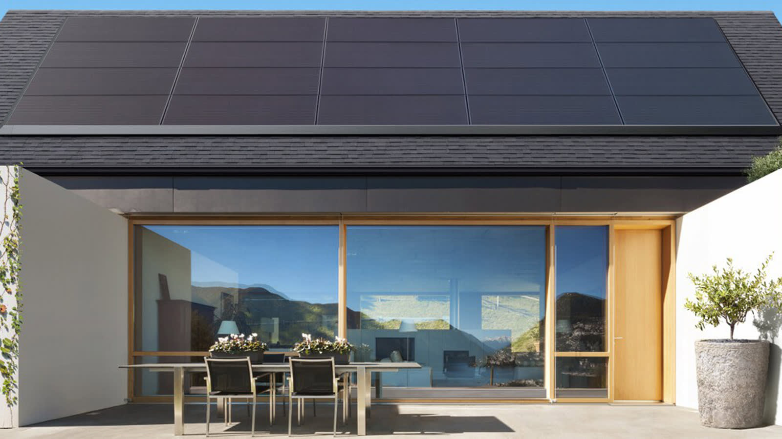 Teslas Sleek Solar Panels Are Easier To Install On Your Roof Wiring A Panel Tesla