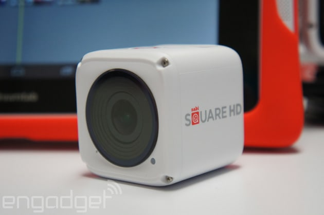 The new Nabi Square HD is a 4K action camera for kids