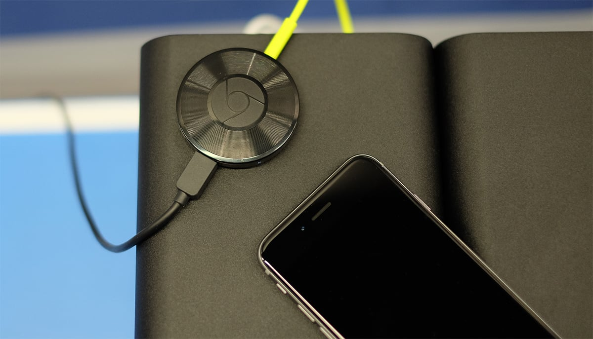 Chromecast Audio competes with Sonos for a tenth of the price