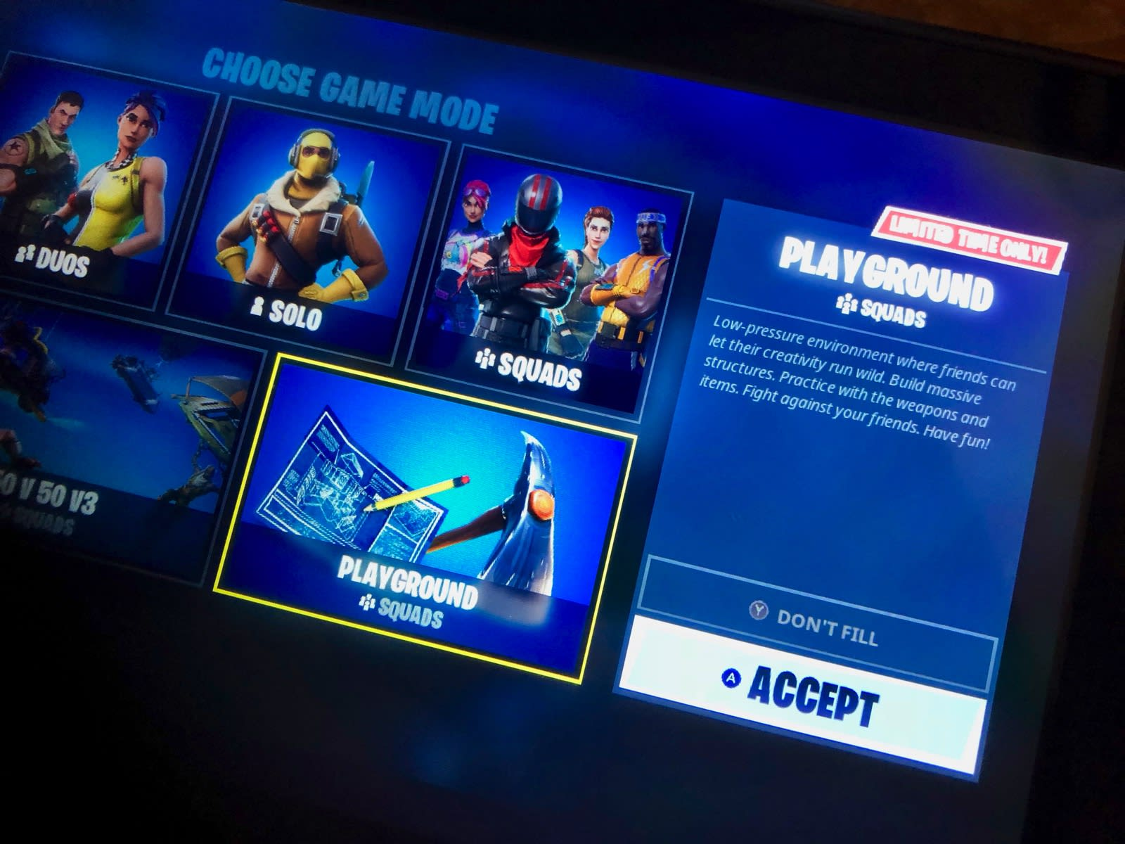 Delayed Fortnite Playground Practice Mode Is Finally Online