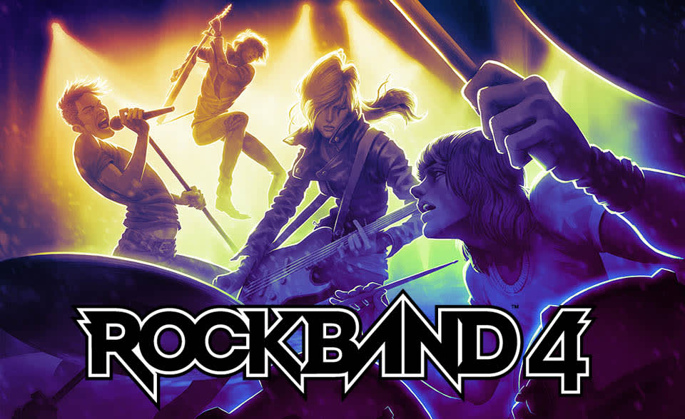 Rock Band' is back with 'Rock Band 4': headed to Xbox One