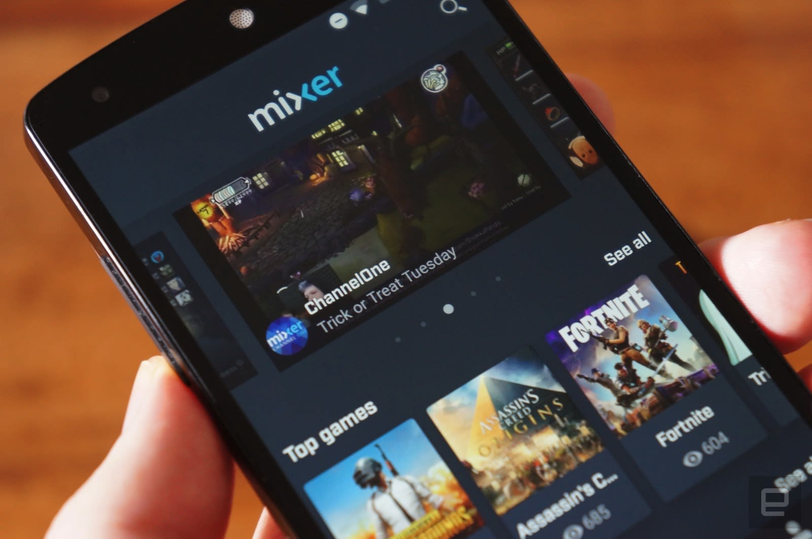 Microsoft's redesigned Mixer mobile app helps you find new