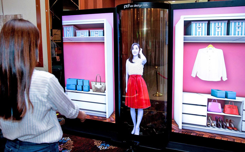LG's latest OLED display is flexible, transparent and gargantuan