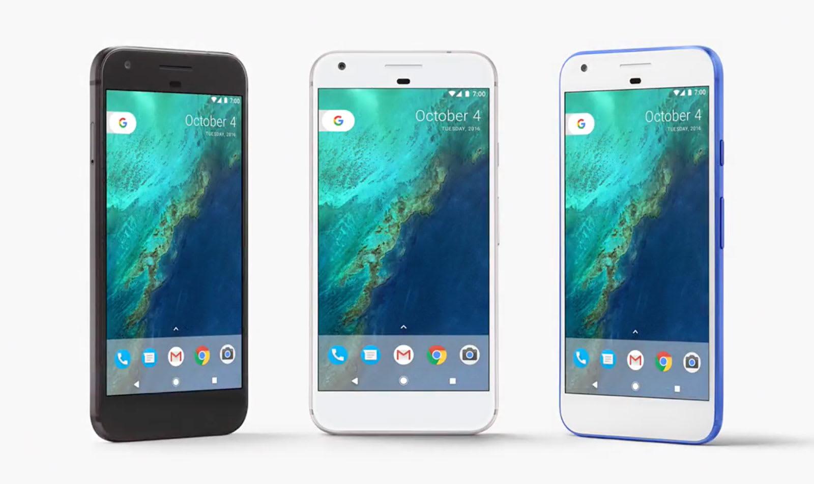 7a2f2012123 Google s Pixel phones make their debut