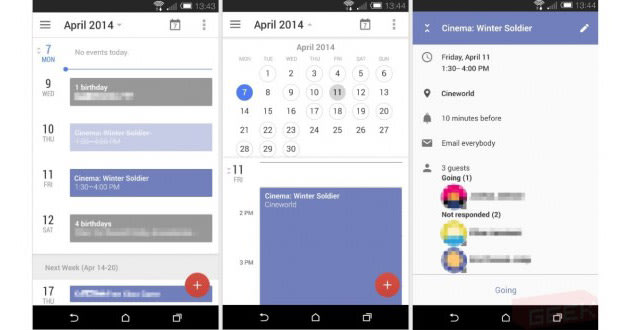 Android Calendar.Here S A Look At The Future Of Google Calendar For Android