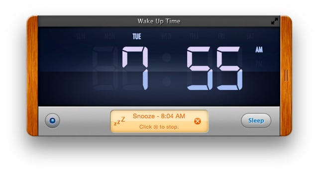 Wake Up Time alarm is a simple, effective desktop companion as long