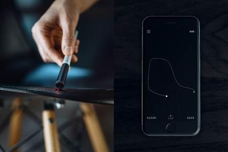 An app update turns this smart pen into a 3D scanner