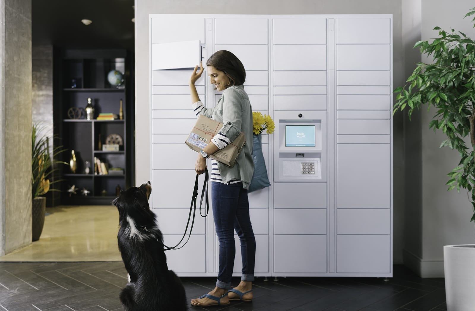Amazon Offers Hub Delivery Lockers To Apartments Across The Us