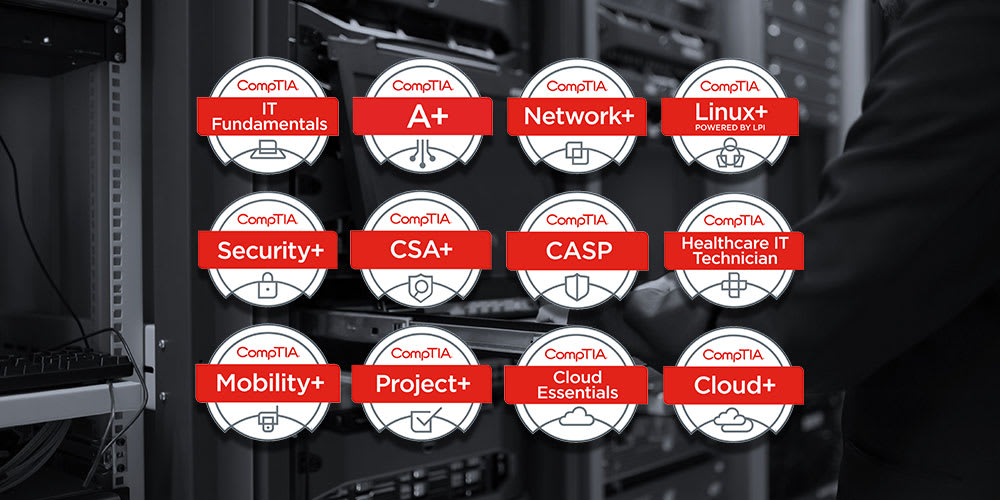 Get 140 Hours Of Comptia Certification Training For 59