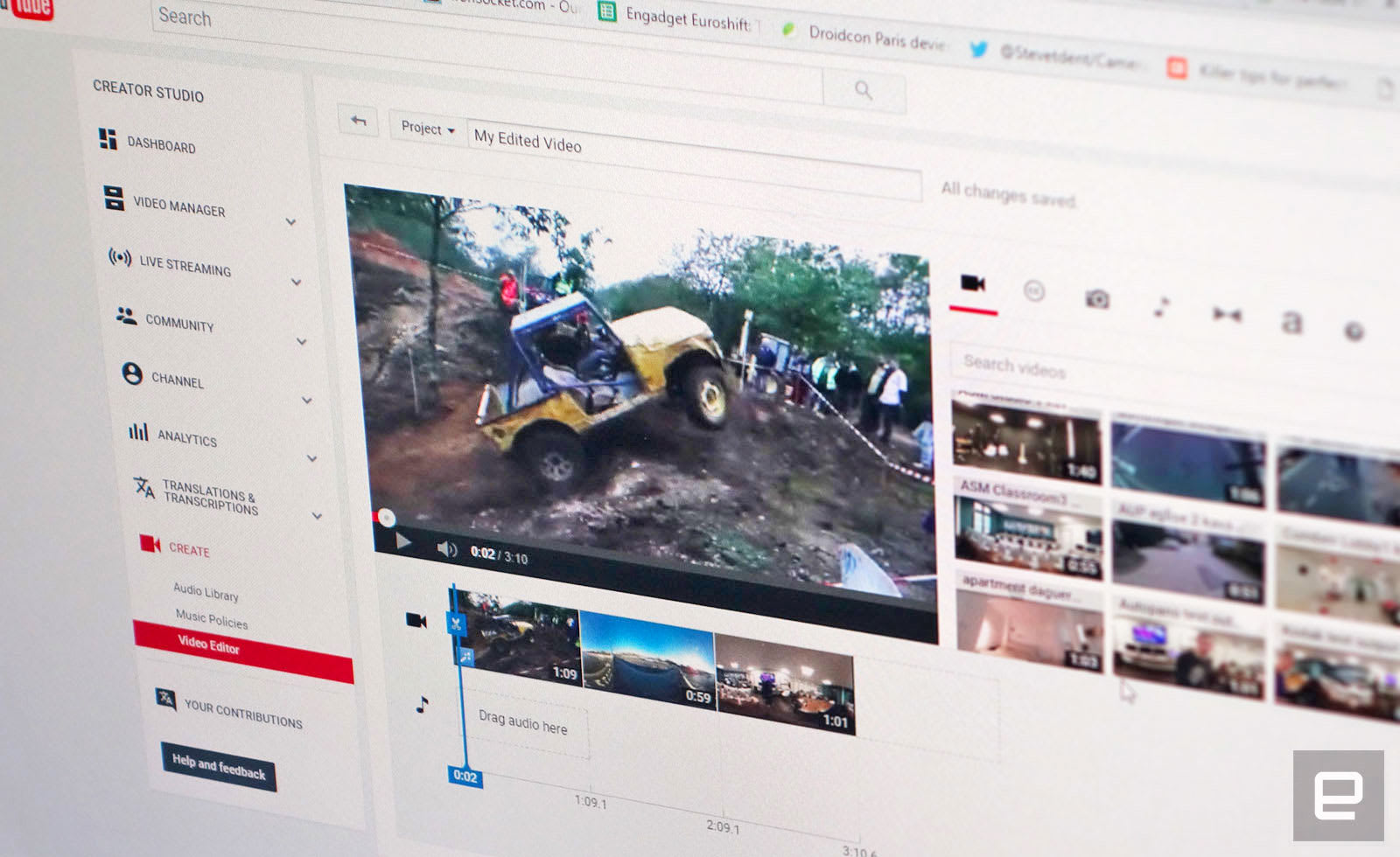 YouTube's 'miniplayer-bar' keeps videos at the top as you scroll