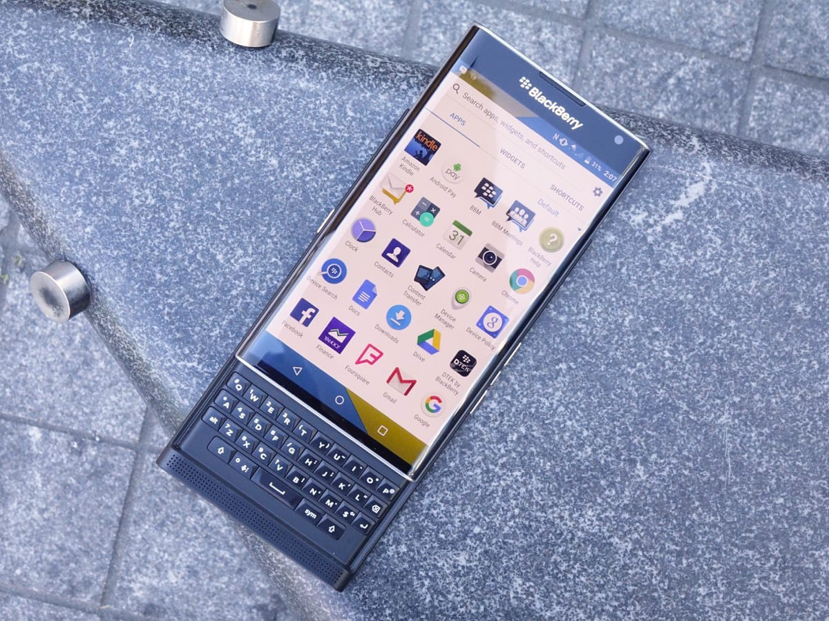 BlackBerry's Priv Android phone comes to Verizon